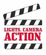 Lights Camera Action……