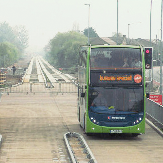 Cambridge Guided Busway (CGB) Visit
