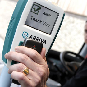 Arriva M ticketing