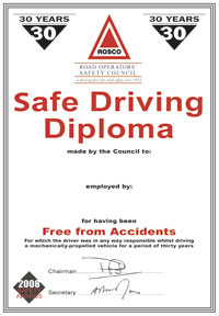ROSCO: Safe Driving and High Standards