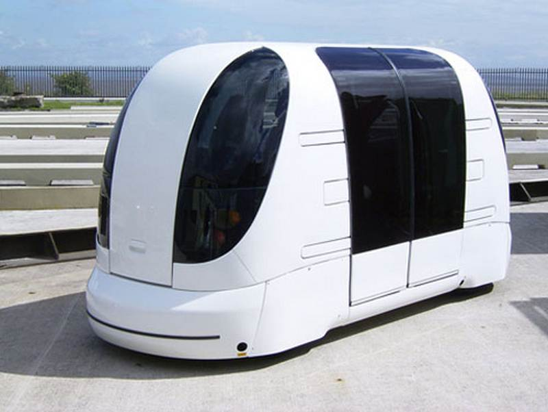 Driver Less Pods….The End Of Driving?