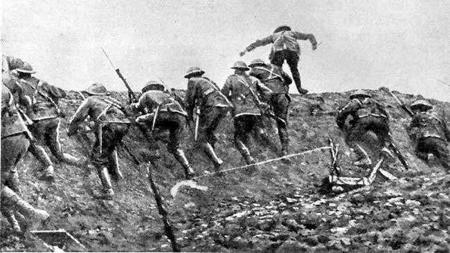 The Somme One Hundread Years On