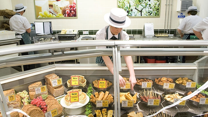 Stressful Job? Try Morrisons Chicken Counter ……