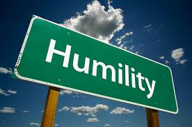 And The Winner Is…..Humility.