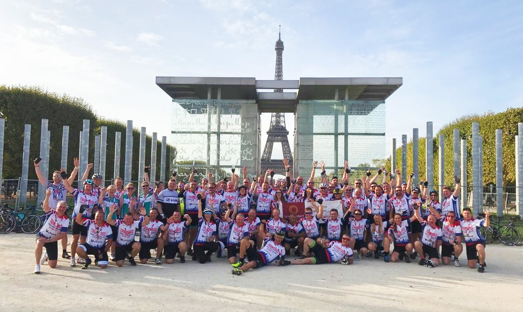 uTrack Rise To The Transaid Challenge