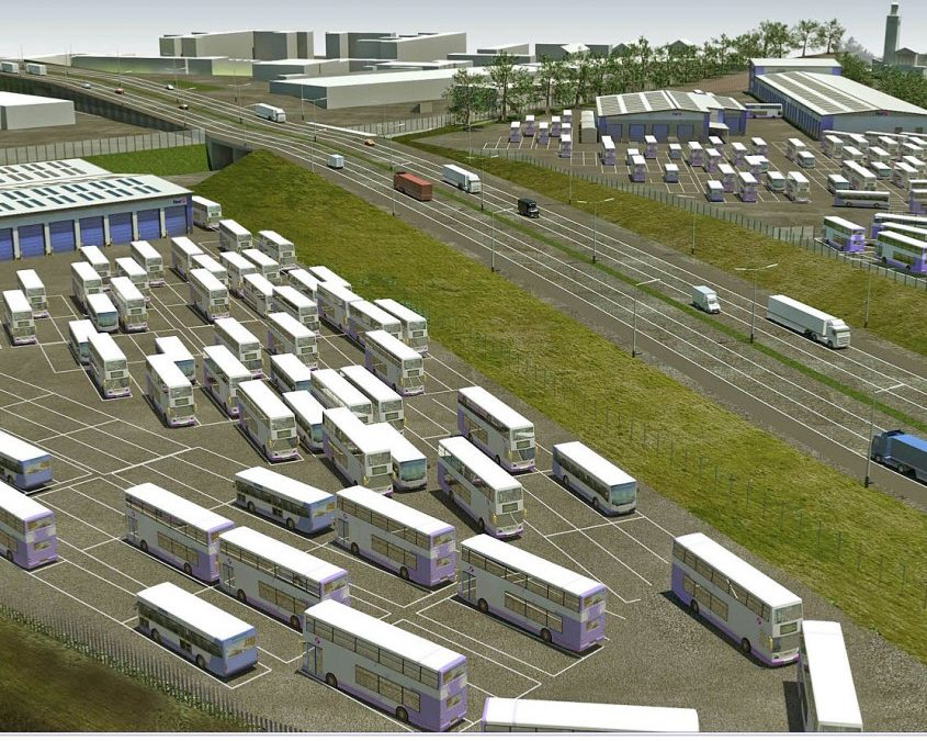 uTrack Roll Out First Bus UK Project